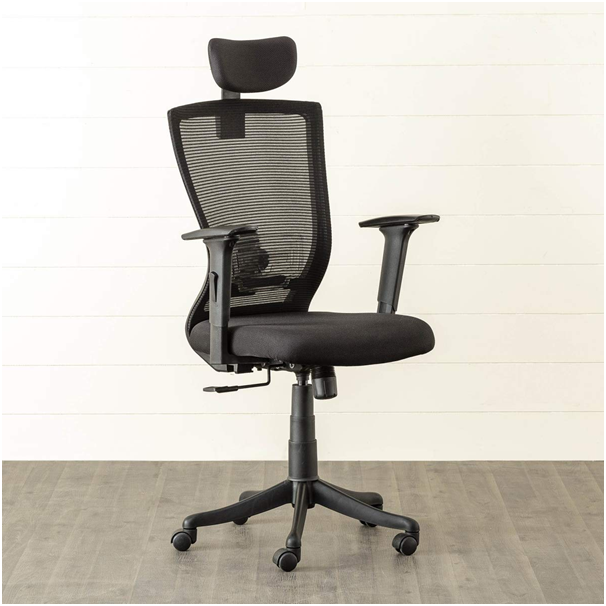 Home Centre Antonio Solid High Back Mesh Office Chair